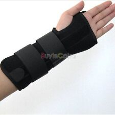 Carpal Tunnel Wrist Brace Support Sprain Forearm Splint Band Stra