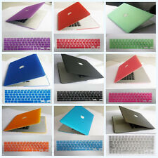 """2in1 Rubberized Hard Case Cover For 2013 Macbook Pro 13""""&15""""Retina Display A1502"""
