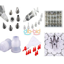 Pastry Icing Piping Nozzles Tips Bag Fondant Cake Sugarcraft Decor Tool OCAU