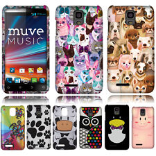 For Cricket ZTE Engage LT MT N8000 Case Accessory HARD Cover Turtle Owl Penguin