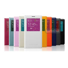 Smart Auto Wake Sleep S View Flip Case Cover for Samsung Galaxy Note 3 III N9000