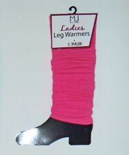 LEG WARMERS – FASHION - ATHLETIC – DANCE - SOLID COLORS - TEENS -LADIES -NIP $12