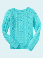 NEW GAP CABLE KNIT SWEATER SIZE XS 4/5 S 6/7 M 8