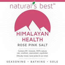 Himalayan Salt Pink Coarse Grade food and bathing - 84 minerals - 100% Pure