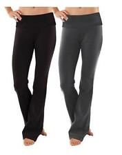 Women's Soft Comfy Cotton Spandex Yoga Sweat lounge Gym Sports Athletic Pants