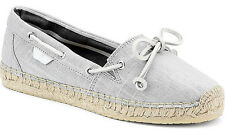 "Sperry Top Sider Women's NEW ""Katama Espadrille"" 9267600 Grey Gray Slip On Shoes"