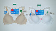 HANES – BRA for GIRL'S – CONVERTIBLE – SEAMLESS – BEIGE - WHITE – SM to XL - NWT