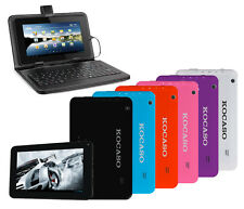 """KOCASO Google Android 4.2 7"""" Dual-Core 1.2GHz 4GB Dual-Cam Tablet PC w/ keyboard"""