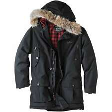 Mens Woolrich Arctic Parka, Black (#16107) - NEW -