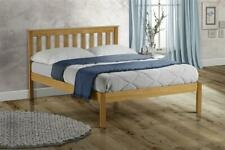 Shaker Style Solid Pine Wood Denver Bed Double 3FT 4FT 4FT6 & 5FT WOODEN BED