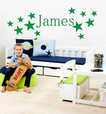 BOYS NAME Bedroom Wall Art Decal/Sticker 3 SIZES