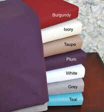 UltraSoft 800 Thread Count Wrinkle Free Cotton Rich MicroCheckered Bed Sheet Set