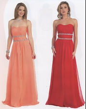 11 COLOR PAGEANT BRIDESMAIDS COCKTAIL DRESS HOMECOMING EVENING FORMAL GOWN 4-20
