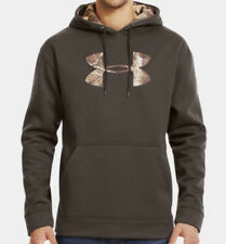 Under Armour Tackle Twill STORM Hoodie (Brown / Realtree Xtra) 1004429-247