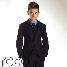 Boys Navy Suit, Boys wedding Suit, Page Boy Suits Boys Prom Suit, Age 1-16 years