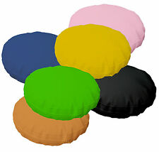 6+Color Water Proof PVC/PU Thick Mattresses 3D Round Cushion Cover Case Custom