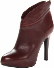 Jessica Simpson Aggie Women's Ankle Boots Heels, Wine