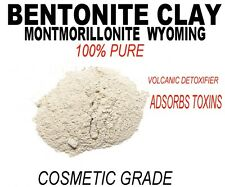Pure White Bentonite Clay powder,Montmorillonite.Antiaging Detoxify face mask