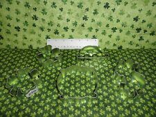 St Pattys Day Shamrock 4 leaf clover pot o gold Irish derby cookie cutter fabric