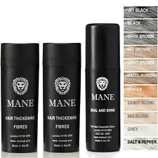 Mane Hair Thickening Fibres  - combat hair loss and thinning hair