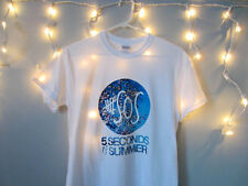 5SOS Five Seconds Of Summer Winter Short Sleeve Tshirt Womens Adult sizes S-XL