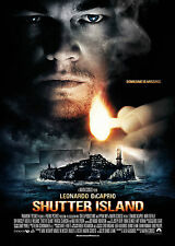 Shutter Island - A1/A2 Poster **BUY ANY 2 AND GET 1 FREE OFFER**