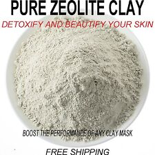 Pure Zeolite Clay Powder.Detoxify and Beautify! Boost you face mask naturally!