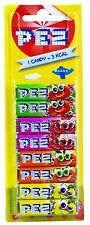 FRUITY Pez Refills Card 8 packs Pez Dispenser Party Fillers Bags fruit refill