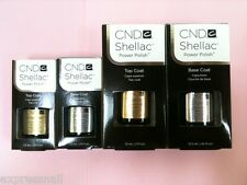 CND SHELLAC UV Gel Polish BASE COAT or TOP COAT 0.25oz 0.42oz 0.5oz GENUINE
