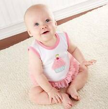 Baby Aspen Baby Cakes Sweet Shoppe Cupcake Outfit Infant 3M 6M Girls Summer New