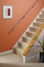 Stairs Staircase Handrail Banister Rail Support Kit 3.6m Stainless Steel 40mm