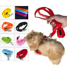 LED Flashing Light Breathable Safety Pet Dog Cat Harness Collar & Lead Leash