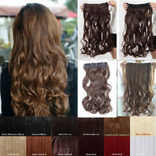 UK Best Selling One Piece 12 Colors Clip in Hair Extensions Daily Deal O SEXY
