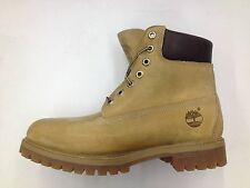 TIMBERLAND 6 INCH PREMIUM CONSTRUCTION DOUBLE SOLE WHEAT BURNISHED BOOTS 27092