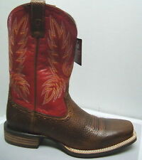 Ariat Western Boots #10012770 Mens Crossbred Cowboy Brown Mega Red