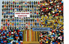LEGO - BUILD YOUR OWN Minifigure - Arms Hands Torso Legs Hair Lot Party Favor