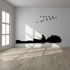 Fishing Sports and Hobbies Wall Decal Art Stickers