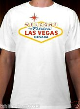 WELCOME TO FABULOUS STAR LAS VEGAS NEVADA T-SHIRT SIZES SMALL TO 4XL NEW!!