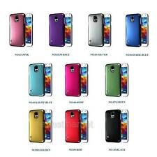 Luxury Chrome Plated Brushing Cover Case For Samsung S5 S4 S3 iPhone 5S HTC ONE