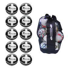 NEW Precision Santos Sack of 10 Training Balls - Cheap Ball Bag Bundle Sz 3 4 5