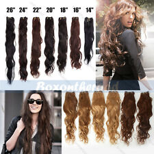100g 14-26 Remy Brazilian Natural Body Wave Human Hair Weaving Extensions black