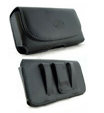 Leather Belt Clip Case Pouch for Cell Phones COMPATIBLE WITH Otterbox Symmetry