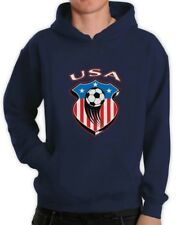 National TEAM USA Pullover Women World Cup 2015 Canada Soccer Football Hoodie