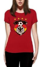 Germany World Cup 2015 Soccer Women T-Shirt Football jersey Eagle Deutschland