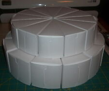 "2 Tier Cake Box Centerpiece Favor Bags/Boxes - 8 1/2"" & 10 1/2"" Package of 24"