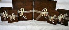 New Personalized Monogrammed Bath Towel Set(3 Piece)-Free Customized Embroidery!