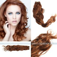 """New50g 12-26"""" Remy Natural Body Wave Weaving Brazilian Human Hair Extension Weft"""