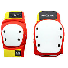 Protec Pad Body Armour Set Red Protection Retro All Sizes