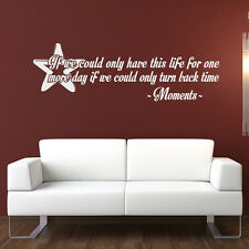This Life Wall Sticker Quote Wall Decal Art