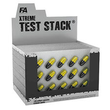 Test Stack 15-270 Caps. Pro Muscle Growth Testosterone Enhancer Anabolic PCT